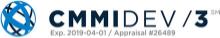 CMMI DEV 3 logo